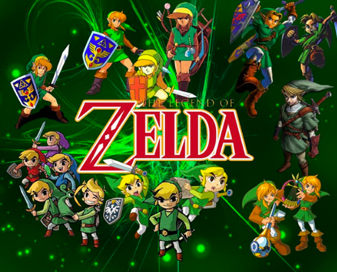 The Legend Of Zelda Green Red