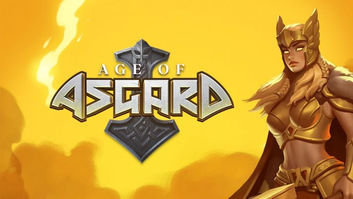 Age of Asgard logo yellow